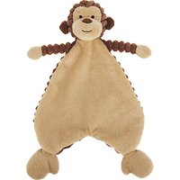 Jellycat Cordy Roy Baby Monkey Soother Soft Toy, Brown