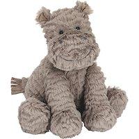 Jellycat Fuddlewuddle Hippo Soft Toy, Medium, Grey