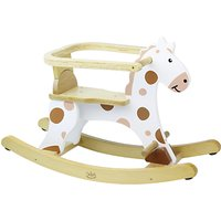 Vilac Wooden My First White Rocking Horse, White