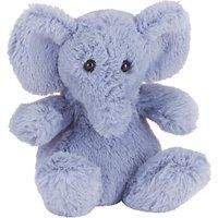 Jellycat Poppet Elephant Baby Soft Toy, Grey