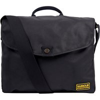 Barbour International Gabion Messenger, Black