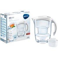 Brita Maxtra+ Elemaris Water Filter Jug, Cool White, 2.4L