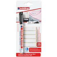 Edding Laundry Marking Set Pen And Labels, Black