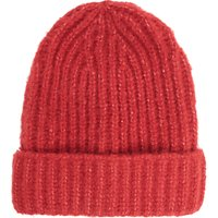 French Connection Ribbed Beanie Hat, One Size