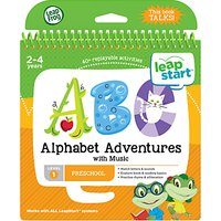 LeapFrog LeapStart Alphabet Adventures Activity Book