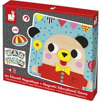Janod Wooden Magnetic Educational Game