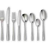 John Lewis & Partners Edge Cutlery Set, 44 Piece
