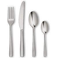 John Lewis Edge Cutlery Set, 24 Piece