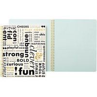 kate spade new york Large Spiral Notebook What Do You Say