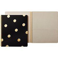 kate spade new york Large Spiral Scatter Dot Notebook