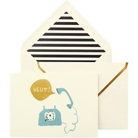 kate spade new york Hello! Foldover Cards