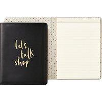kate spade new york Lets Talk Shop Folio