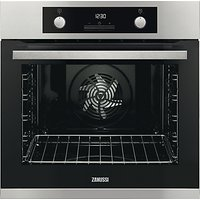 Zanussi ZOP37982XC Built-In Single Electric Oven, Stainless Steel