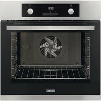 Zanussi ZOA35972XK Built-In Electric Single Oven, Stainless Steel