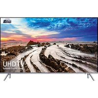 Samsung UE75MU7000 HDR 4K Ultra HD Smart TV, 75 with TVPlus/Freesat HD, Dynamic Crystal Colour & 360 Design, Ultra HD Certified, Silver