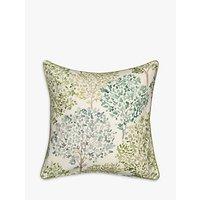 John Lewis Leckford Trees Cushion, Green