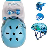 Micro Scooter Scootersaurus Helmet Bell And Light Safety Set, Small