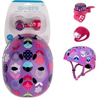 Micro Scooter Dot Helmet Bell And Light Safety Set, Small