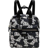 Radley Folk Dog Fabric Medium Backpack