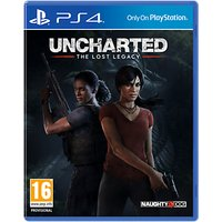 Uncharted: The Lost Legacy, PS4