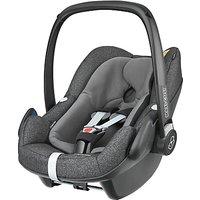 Maxi-Cosi Pebble Plus i-Size Group 0+ Baby Car Seat, Triangle Black