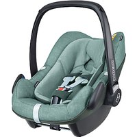 Maxi-Cosi Pebble Plus i-Size Group 0+ Baby Car Seat, Nomad Green