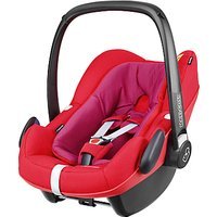Maxi-Cosi Pebble Plus i-Size Group 0+ Baby Car Seat, Red Orchid