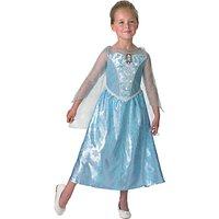 Disney Princess Frozen Light And Sound Elsa Costume, L (7-8 yrs)