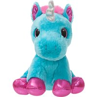 Aurora World Sparkle Tales 7 Moonbeam Unicorn Soft Toy