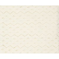 John Lewis & Partners Receiving Blanket, Off White
