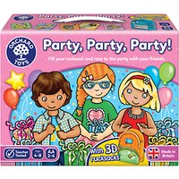 Orchard Toys Party, Party, Party! Board Game