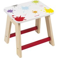 Janod Splash Wooden Stool