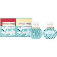 Miu Miu Eau de Parfum and LEau Bleue Fragrance Duo, 2 x 20ml