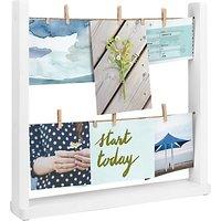 Umbra Hangit Desktop Photo Display Stand, White