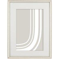 John Lewis Cambridge Photo Frame, 5 x 7 (13 x 18cm), Silver