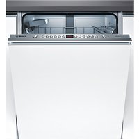 Bosch SMV46IX00G Integrated Dishwasher, Brushed Steel at John Lewis & Partners Department Store