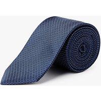Calvin Klein Geo Pin Dot Tie, Navy