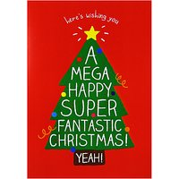 Happy Jackson Christmas Tree Card