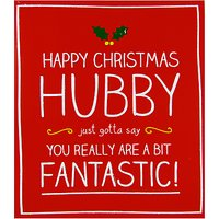 Happy Jackson Husband A Bit Fantastic Christmas Card
