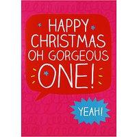 Happy Jackson Gorgeous One Christmas Card