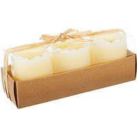 John Lewis Egg Candles In A Box, Set of 3