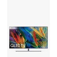 Samsung QE65Q8F QLED HDR 1500 4K Ultra HD Smart TV, 65 with TVPlus/Freesat HD and 360 Design, Ultra HD Premium Certified, Silver