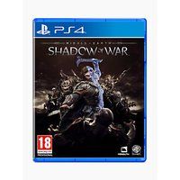 Middle-Earth: Shadow of War, PS4