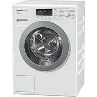Miele WKF301 Freestanding Washing Machine, 8kg Load, A+++ Energy Rating, 1400rpm Spin, White