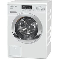 Miele WKF322 Freestanding Washing Machine, 9kg Load, A+++ Energy Rating, 1600rpm Spin, White