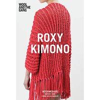 Wool And The Gang Womens Roxy Kimono Knitting Pattern