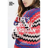Wool and the Gang Women's Let's Groove Cardigan Knitting Pattern