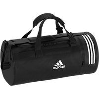 Adidas Convertible 3-stripes Duffle Bag, Medium, Black