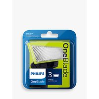 Philips QP230/50 OneBlade Replacement Blades, Pack of 3