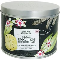 Artisan Biscuits Chocolate Pieces English Shortbread Gift Tin, 190g